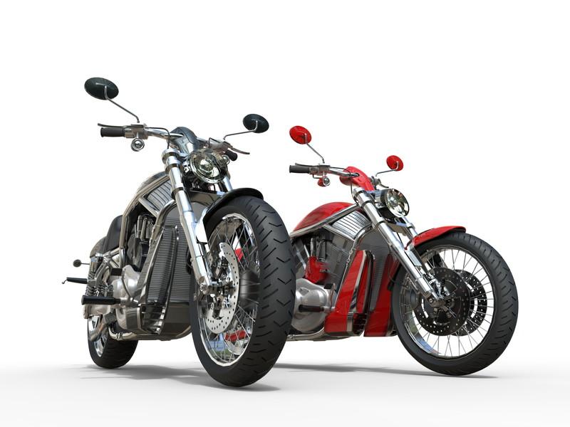 ハーレーバイク2台